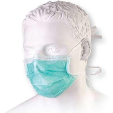Maska medyczna wiązana na troki