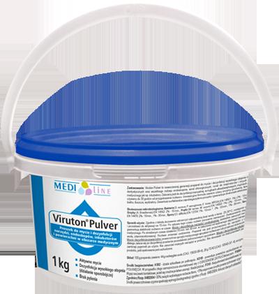 Viruton pulver (proszek) - mycie i dezynfekcja